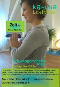 schwanger yoga Juni 2