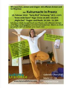 kulturnacht in preetz new version