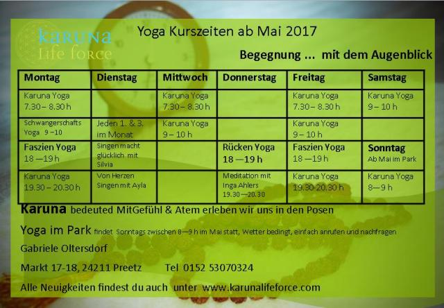 timetable Mai 2017 begegnung